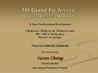 551 Grand Fir Avenue Avignon Terrace - Sunnyvale