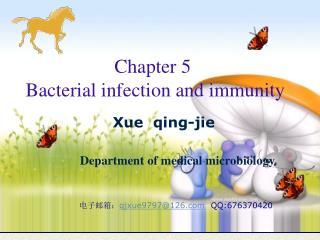 Chapter 5  Bacterial infection and immunity