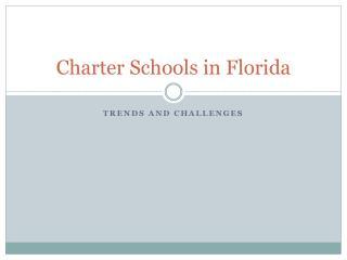 Charter Schools in Florida