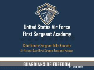 United States Air Force  First Sergeant Academy