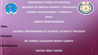 UNIVERSIDAD TECNICA DE MACHALA  FACULTAD DE CIENCIAS QUIMICA Y DELASALUD