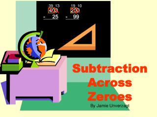 Subtraction  Across Zeroes