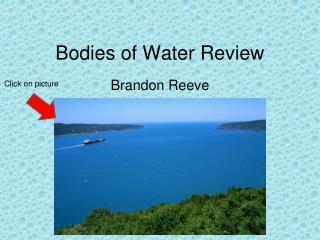 Bodies of Water Review