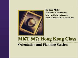 MKT 667: Hong Kong Class