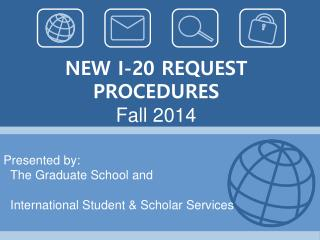 NEW I-20 REQUEST PROCEDURES Fall 2014