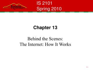 IS 2101 Spring 2010