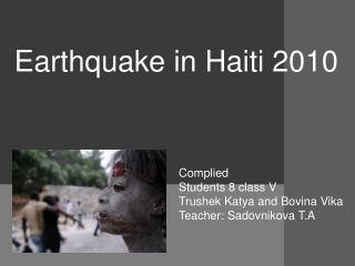 Medical Response to Haiti Earthquake Operation Unified Response