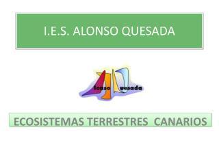 I.E.S. ALONSO QUESADA