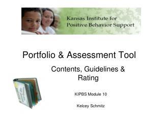 Portfolio  Assessment Tool
