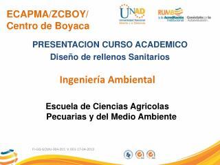 ECAPMA/ZCBOY/ Centro de  Boyaca