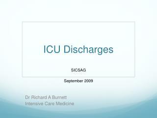 ICU Discharges