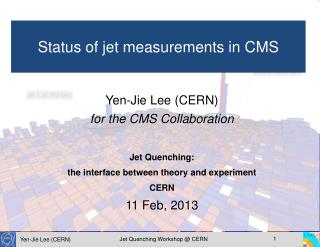 Yen-Jie Lee (CERN) for the CMS Collaboration