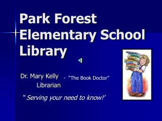 Park Forest Elementary School Library