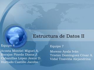 Estructura de Datos II
