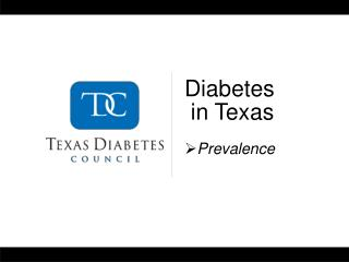 Diabetes  in Texas