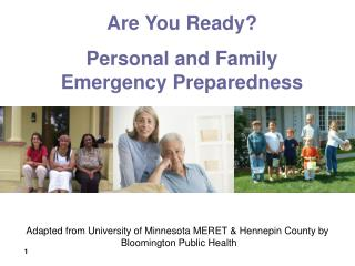 Adapted from University of Minnesota MERET & Hennepin County by  Bloomington Public Health