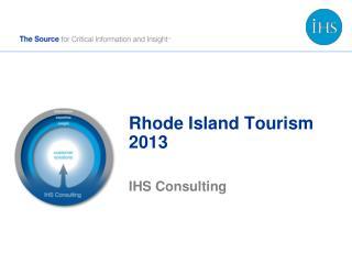 Rhode Island Tourism 2013