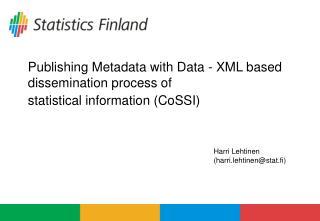 Harri Lehtinen (harri.lehtinen@stat.fi)