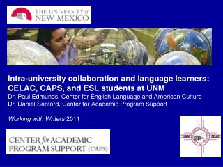 Multilingual Writers at UNM