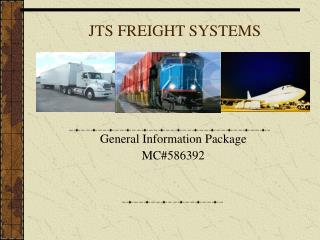 JTS FREIGHT SYSTEMS