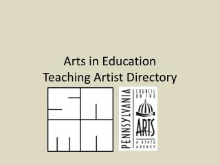 Arts in Education Teaching Artist Directory