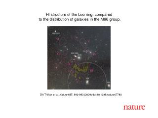 DA Thilker et al. Nature 457 , 990-993 (2009) doi:10.1038/nature07780