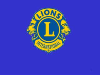 Welcome to  The Lions Club of New Lynn Information Evening