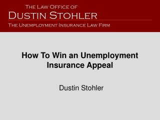 How To Win an Unemployment Insurance Appeal