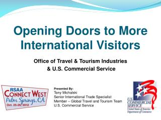 Opening Doors to More International Visitors