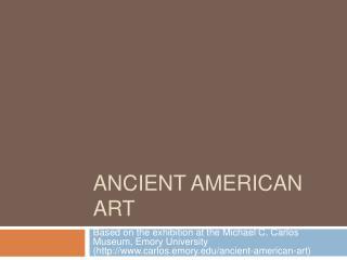 Ancient American Art