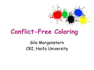 Conflict-Free Coloring