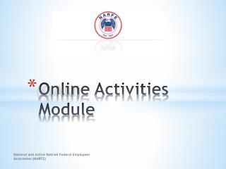 Online Activities Module
