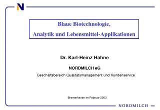 Dr. Karl-Heinz Hahne