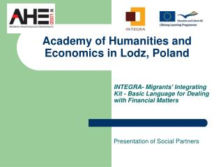 Academy of Humanities and Economics in Lodz, Poland