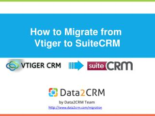 Migrate Vtiger to SuiteCRM with Ease