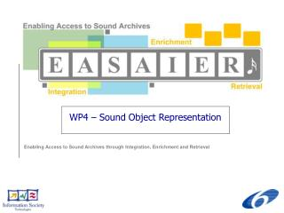 WP4 – Sound Object Representation