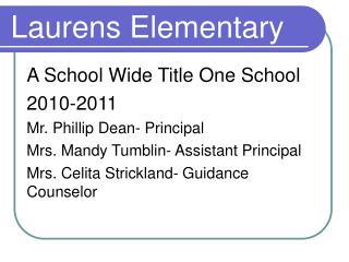 Laurens Elementary