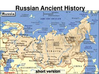Russian Ancient History