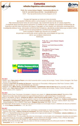 Profa. Dra. Luciana Salazar Salgado –  lucianasalazar@ufscar.br