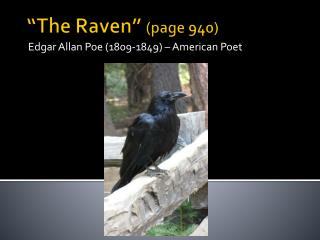 �The Raven �  (page 940)