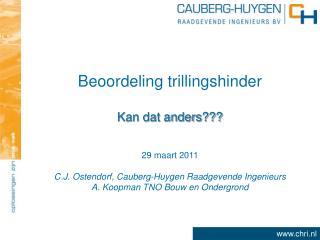 Beoordeling trillingshinder
