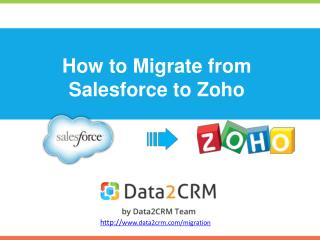 Migrate CRM data from Salesforce to Zoho