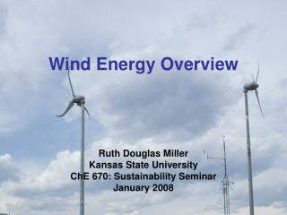 Wind Energy Overview