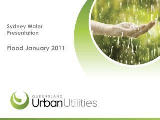Sydney Water Presentation