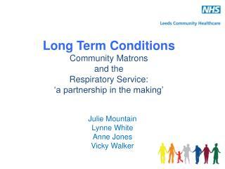 Julie Mountain Lynne White Anne Jones Vicky Walker
