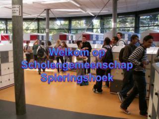 Welkom op  Scholengemeenschap  Spieringshoek