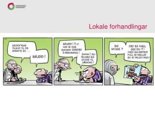Lokale forhandlingar