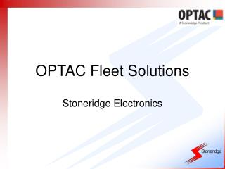 OPTAC Fleet Solutions