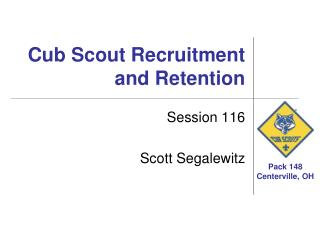 Cub Scout Recruitment and Retention