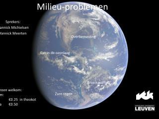 Milieu-problemen